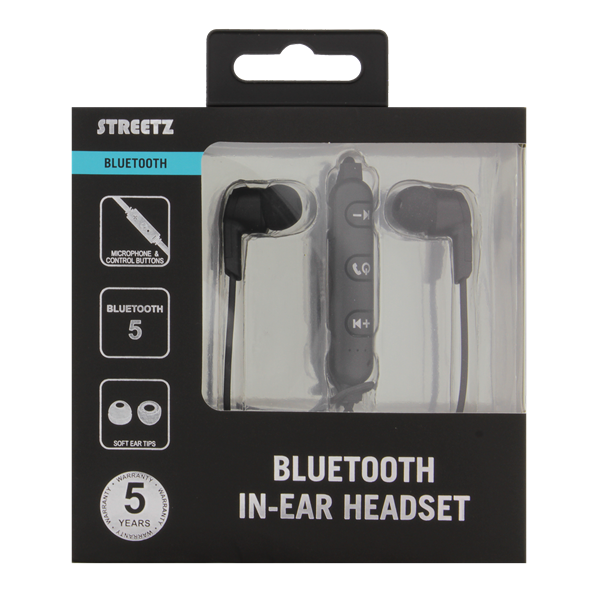 Streetz Bluetooth Hörlurar in ear - Svart Image